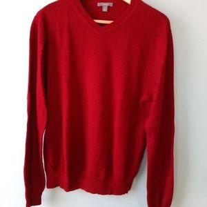 Red Apt. 9 cashemere sweater